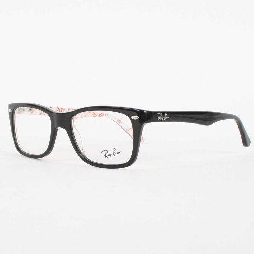ray ban womens acetate optical frames in top black on ray ban httpwww amazoncomdpb0083p5xemrefcm_sw_r_pi_dp_3szbqb17v7xv9 my style pinterest
