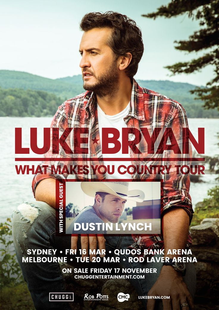 Luke Bryan announces Australian tour dates | Country Music Channel on Foxtel