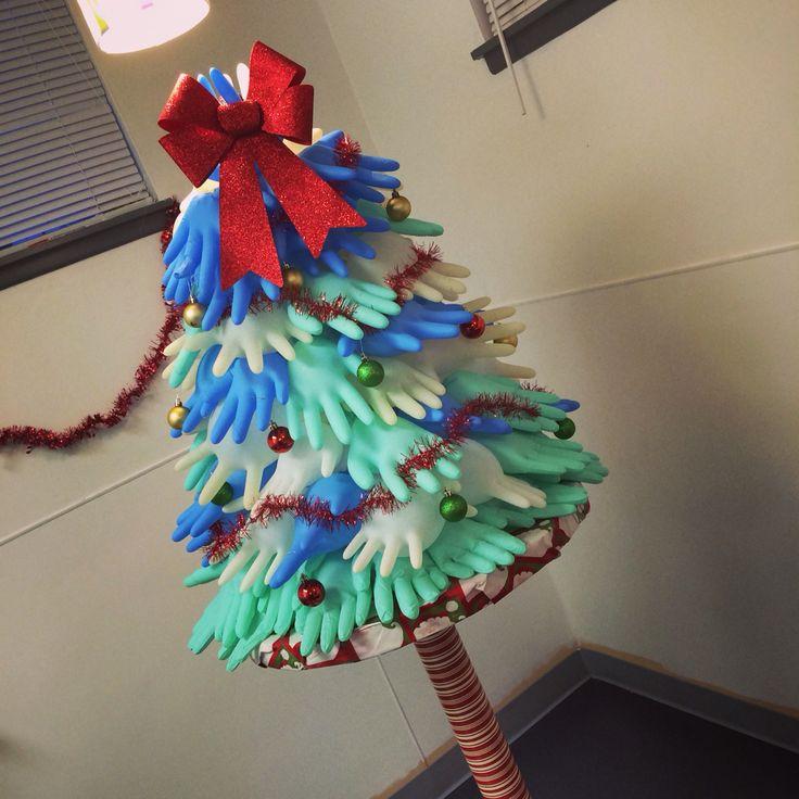 Medical Glove Christmas Tree