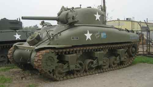 The Sherman Tank was the main battle tank of the US Army during ...