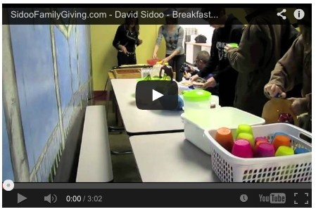 David and Manjy Sidoo started Sidoo Family Giving five years ago with the goal of enriching the lives of children and families around the world. Promoting health and wellbeing is a significant focus of Sidoo Family Giving.  http://sidoofamilygiving.com/2011/05/the-breakfast-club-scores-high-marks-at-nwss/