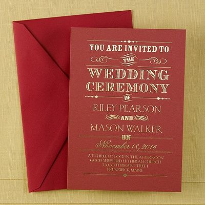 1000 ideas about Christmas Wedding Invitations – Wedding Invitations Christmas