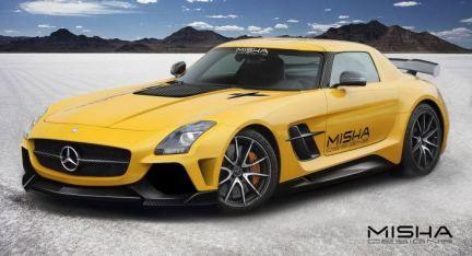 2014 Mercedes-Benz SLS AMG by Misha Designs