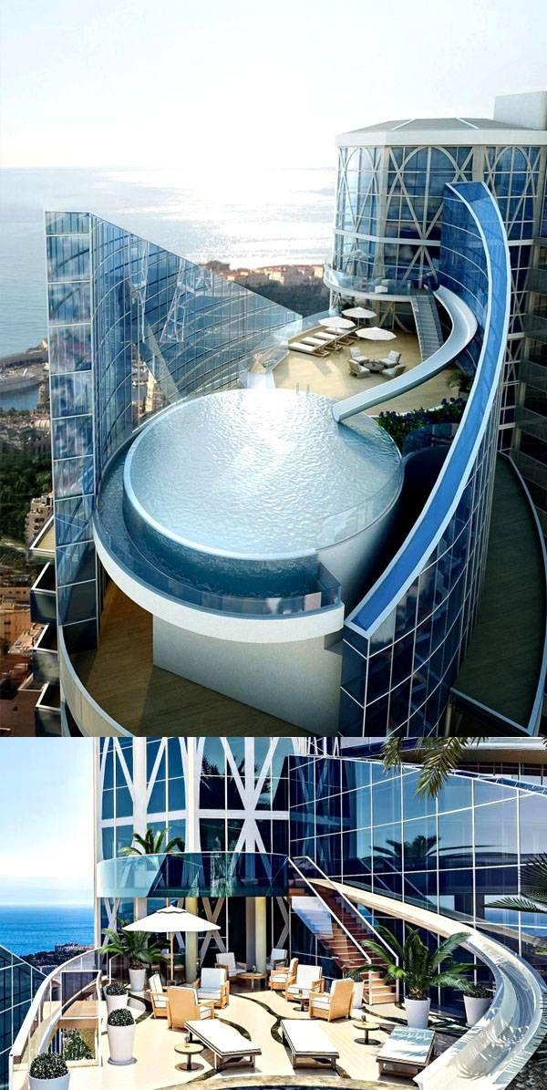 Marvelous Tour Odeon Tower Sky Penthouse Monaco