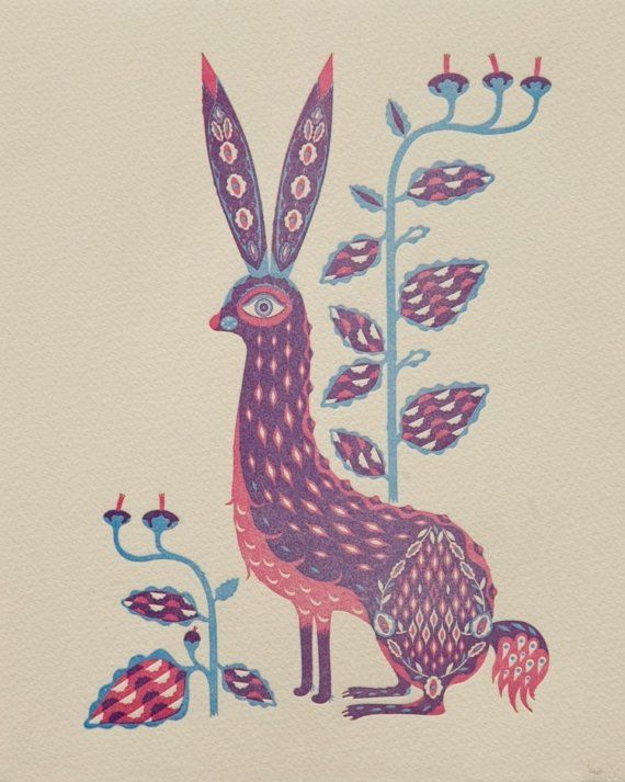 Klaus Haapaniemi - rabbit, hare, folklore, scandinavian