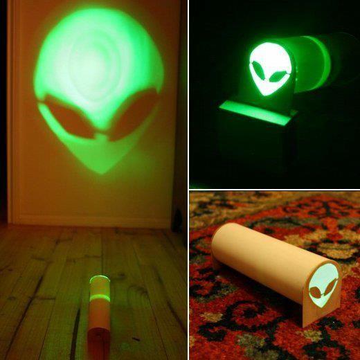 alien projection