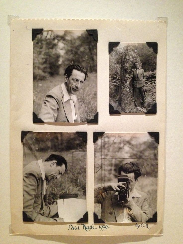 Paul Nash photographed by his patron & friend Clare Neilson (1935)