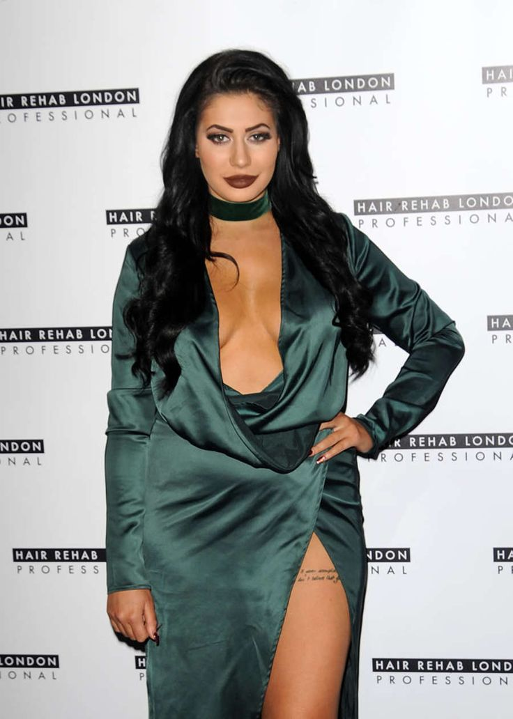 Chloe Ferry as the new face of Hair Rehab London more @ http://www.luvcelebs.com