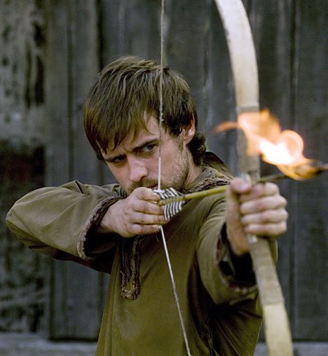 Jonas Armstrong as Robin Hood in BBC's Robin Hood series.  Image detail for -that is extremely amazing and I recommend it to anyone and everyone ...