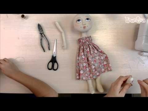 Часть 3. Кукла своими руками. Создание куклы Эльза - YouTube