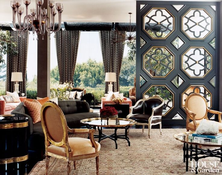 Kelly Wearstler.  Masterful.  I like her older decor.  Classic, eclectic, tasteful, collected.