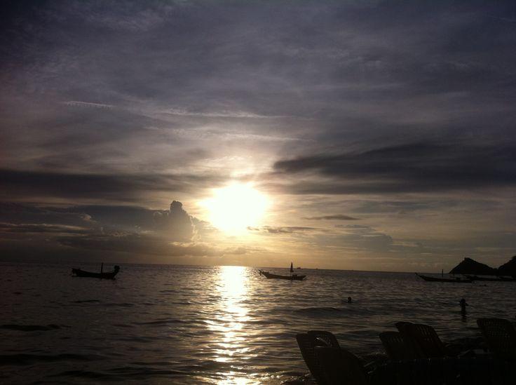 #thailand #sunset #kohtao