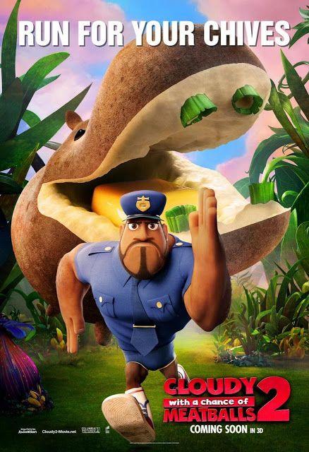 """""""Tá Chovendo Hambúrguer 2″ ganha novos cartazes http://cinemabh.com/imagens/ta-chovendo-hamburguer-2-ganha-novos-cartazes"""