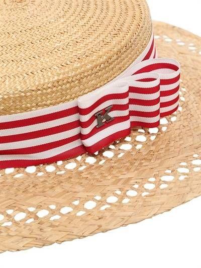 ELI STRAW BOATER HAT