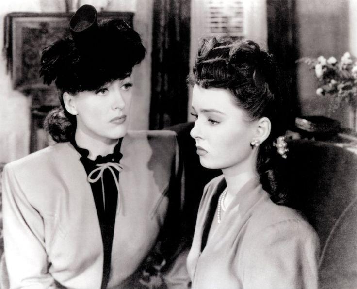 Joan Crawford and Ann Blyth in Mildred Pierce (1945)