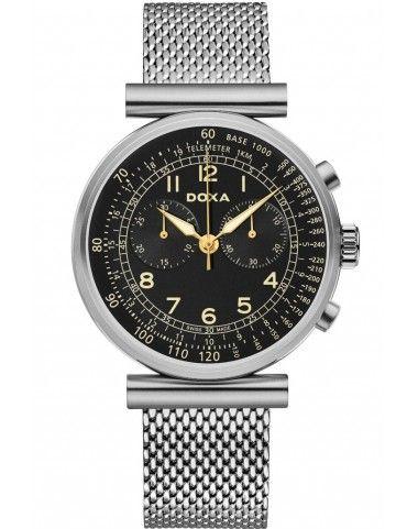 Zegarek Szwajcarski DOXA Telemeter 160.10.105.10