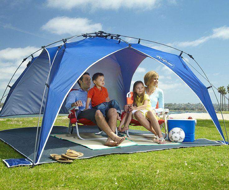 New Quick Canopy Instant Pop Up Shade Tent Beach Camping Pool Backyard Block Sun #LightspeedOutdoors