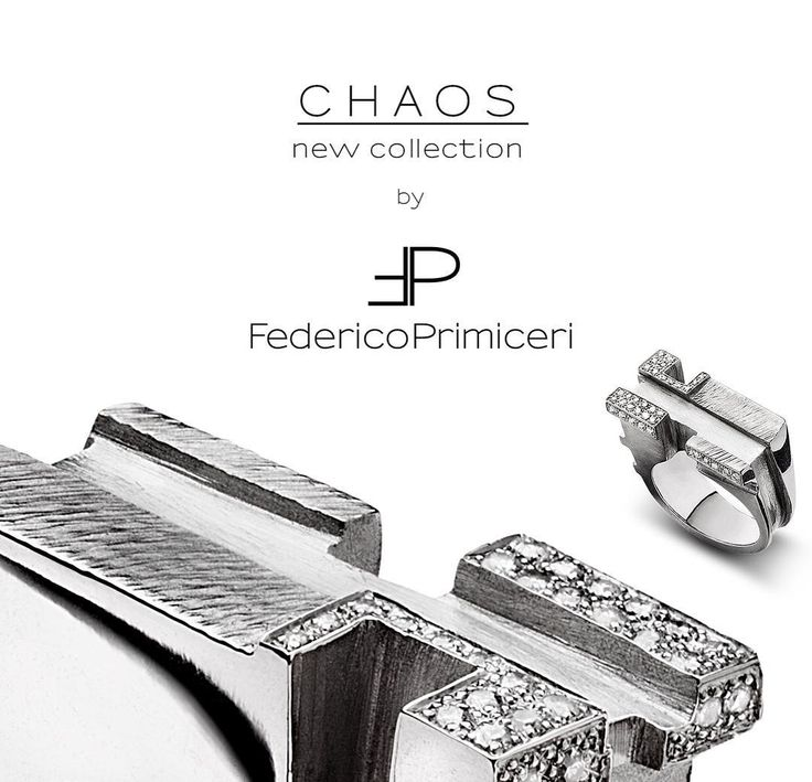 """""""#Music #Art #Architecture. Three worlds, three perceptions, three inspirations in a unique magnetic and precious #CHAOS, the new fine jewellery collection…"""""""
