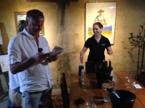The Wine Safari visits Murati and Hartenberg with guests from Sweden