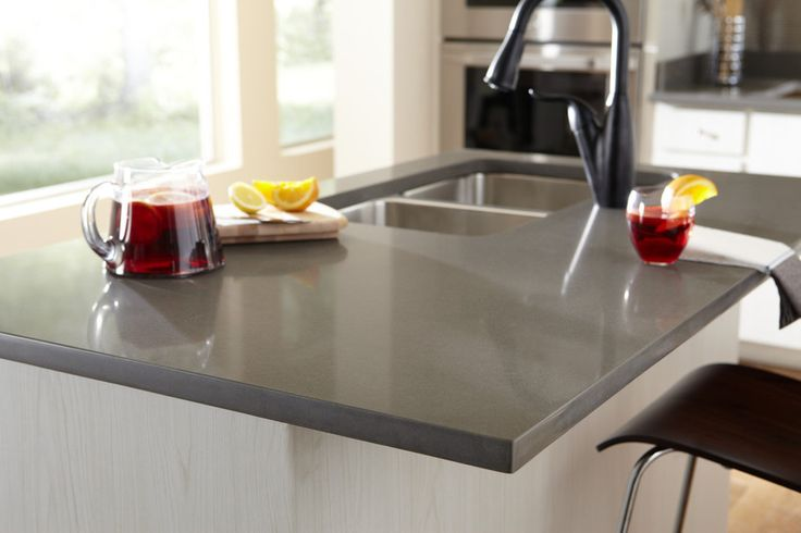 Silestone altair in a kitchen not mine kitchen for Silestone sink reviews