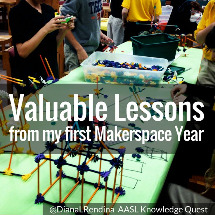 When I first started my makerspace at Stewart Middle Magnet School back in January of 2014, I was figuring everything out as I went along.  The term was still brand new, I couldn't find any maker sessions at conferences, and there... Read More ›