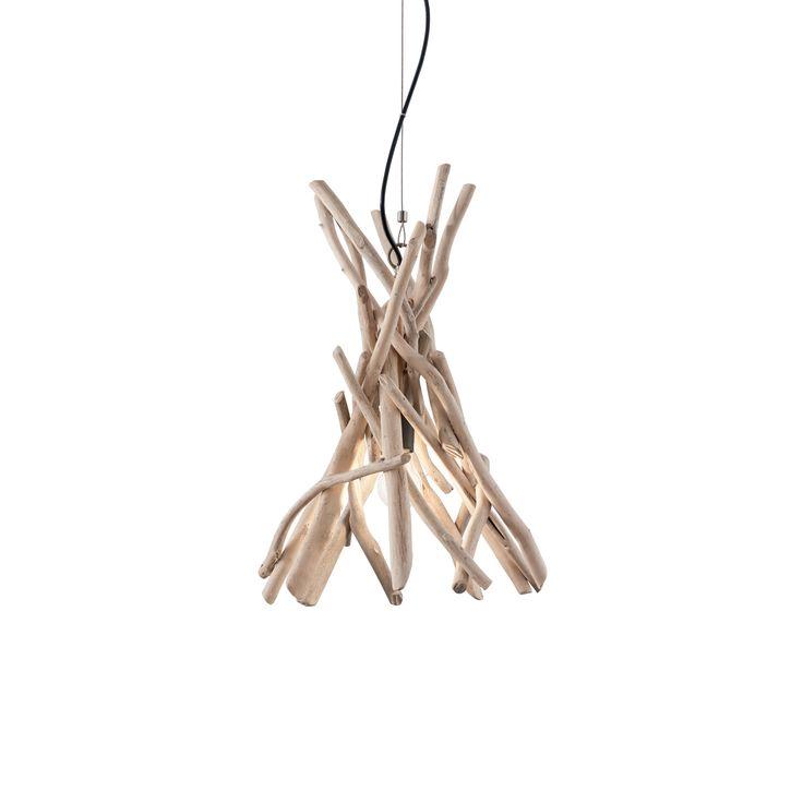 New  Driftwood Echtholzleuchte Lichtdesign Ideal Lux einrichtung sch nerwohnen lampe