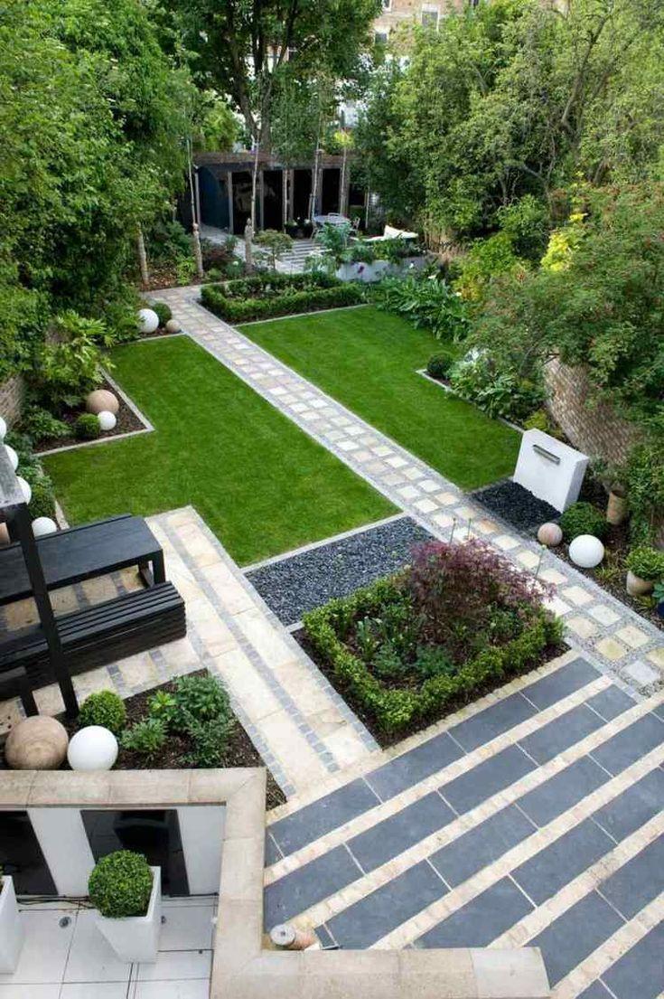 Aménagement jardin paysager moderne avec terrasse de détente – 80 idées inspirantes