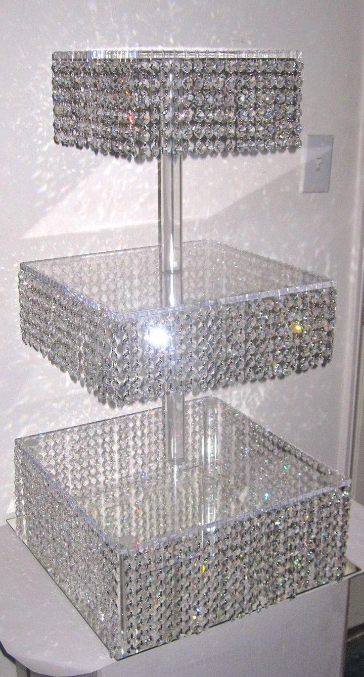 bling cupcake stand
