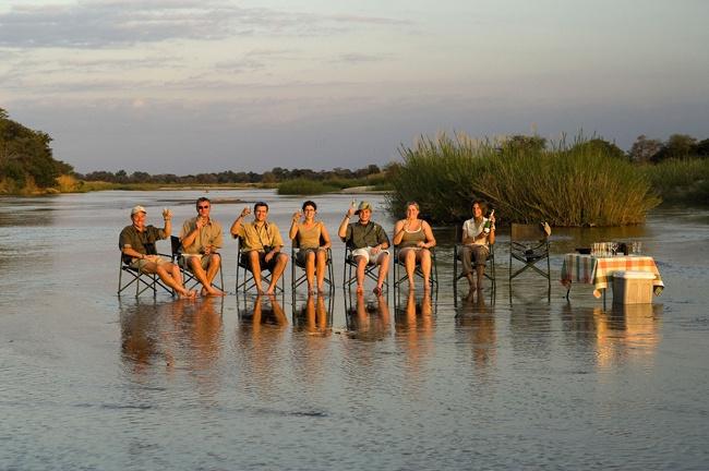 #travel #holiday #sundowners #zambia