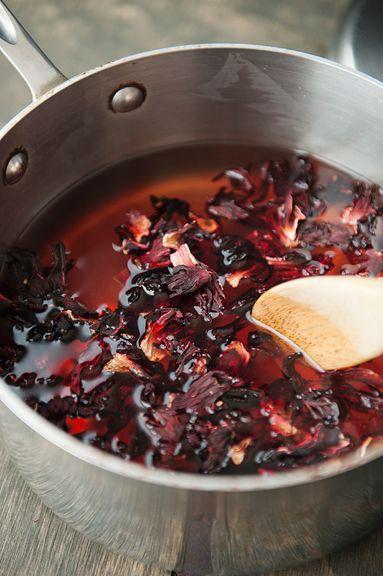 hibiscus tea lemonade recipe | I'm thirsty!!