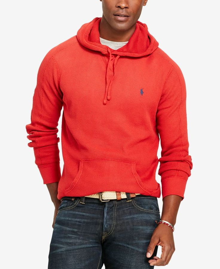 Ralph Lauren Men White Soft Watly 2 Hoody