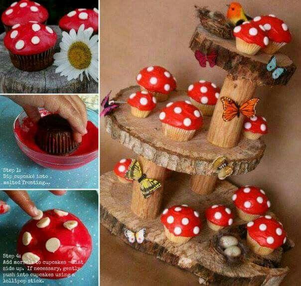 Mushroom cuppies