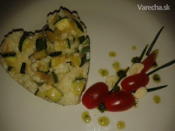 Ryža s cuketou - Recept