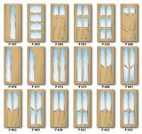 Presklený design ADLO dverí - Variant B - Termo Trojsklo - Multisec P5A (10mm) - do exteriéru - rad Elite