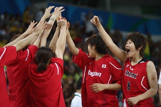 女子バスケはアトランタ五輪以来、20年ぶりとなる決勝トーナメント出場を果たした【Getty Images】