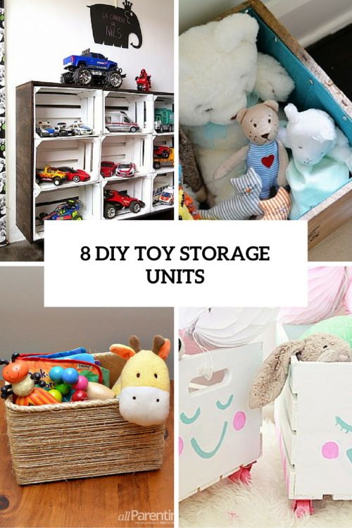 8 Awesome DIY Toy Storage Units For Every Nursery