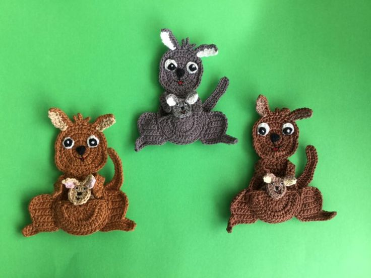1156 Best Crochet Animals Applique Images On Pinterest