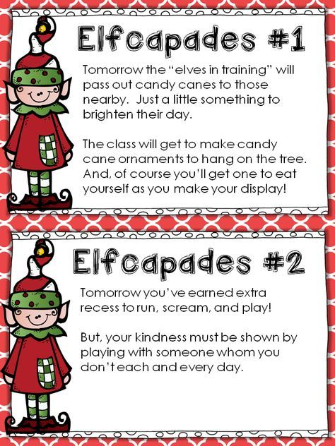 Elfcapades Elf In The Classroom Random Acts Of Kindness