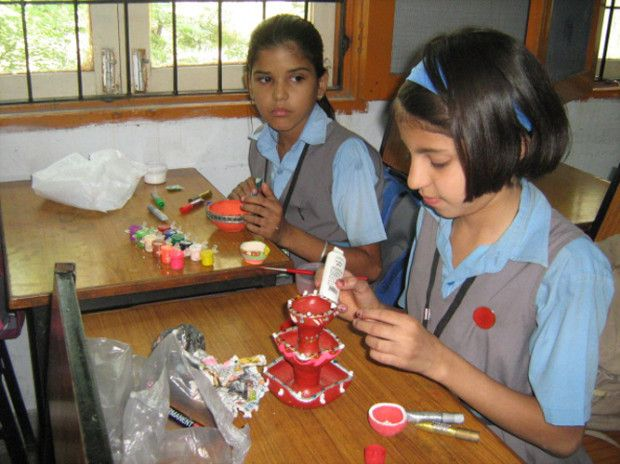 Diya Making Competition