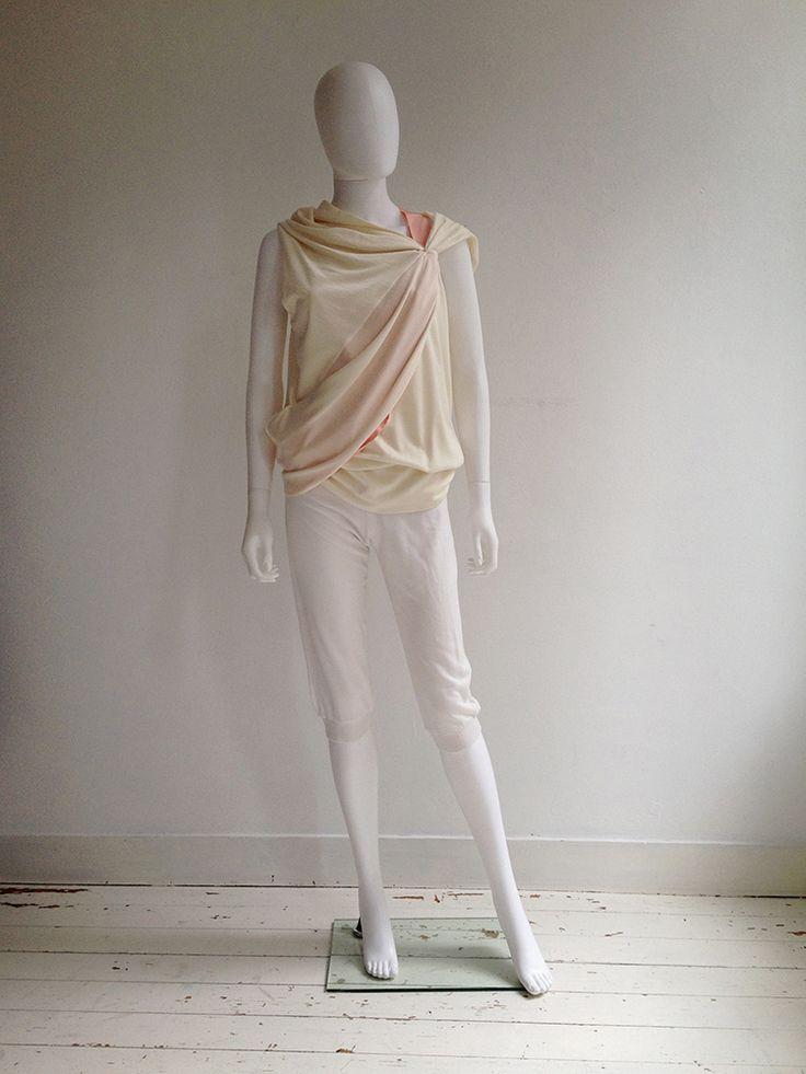 A.F. Vandevorst white capri trousers | V A N II T A S