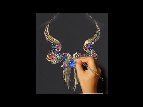 21 best jewellery illustration images on pinterest for Learn to draw jewelry