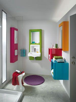 les 25 meilleures idées de la catégorie salle de bain coloree sur ... - Salle De Bain Colore