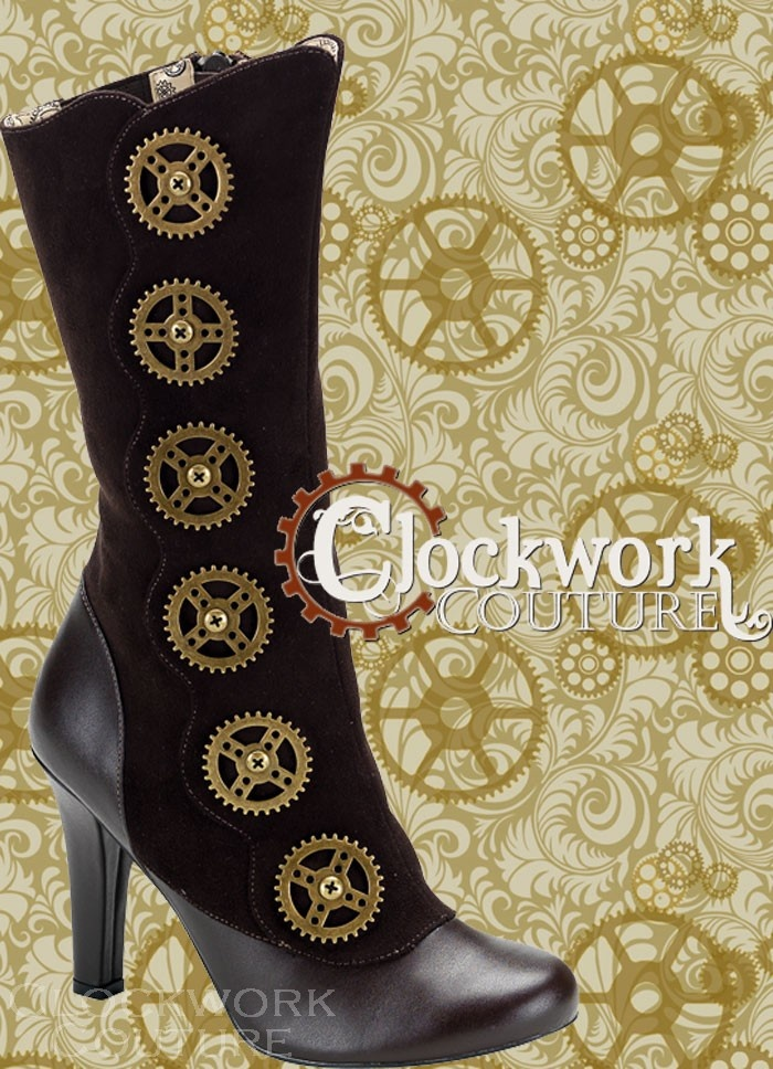 Sexy steampunk boots.