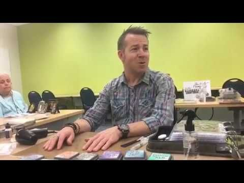 An hour with Tim Holtz on Distress Oxides (Plus some extras) by Hedgehog Hollow - YouTube