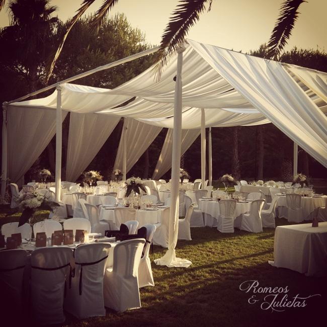 Idea entoldado jardin boda R Torrevieja. Boda Romeos y Julietas Wedding Planner