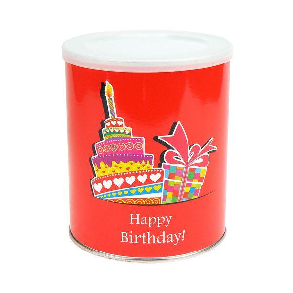 Extragoods Geschenkdose Happy Birthday Zum Selbstbefullen Mit Klarsichtbox Bei Extragifts Im Avocadostore In 2021 Dose Geschenke Aufkleber