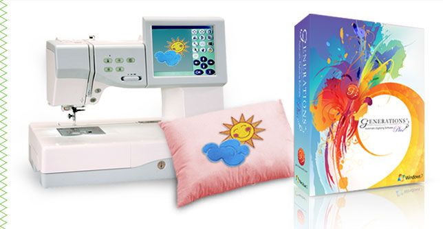 Generations Embroidery Software | Automatic Digitizing Software --my software
