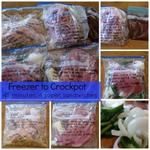 Freezer To Crockpot Cooking | Sandwiches Recipes and Instructions
