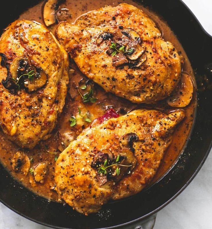 Best 25 stuffed chicken marsala ideas on pinterest - Olive garden chicken marsala calories ...
