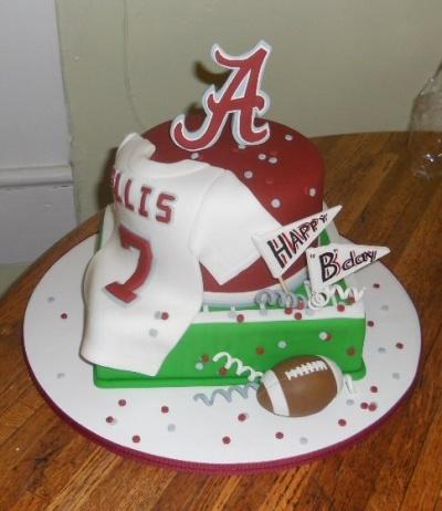 Alabama themed Birthday cake By CakesbyKat on CakeCentral.com